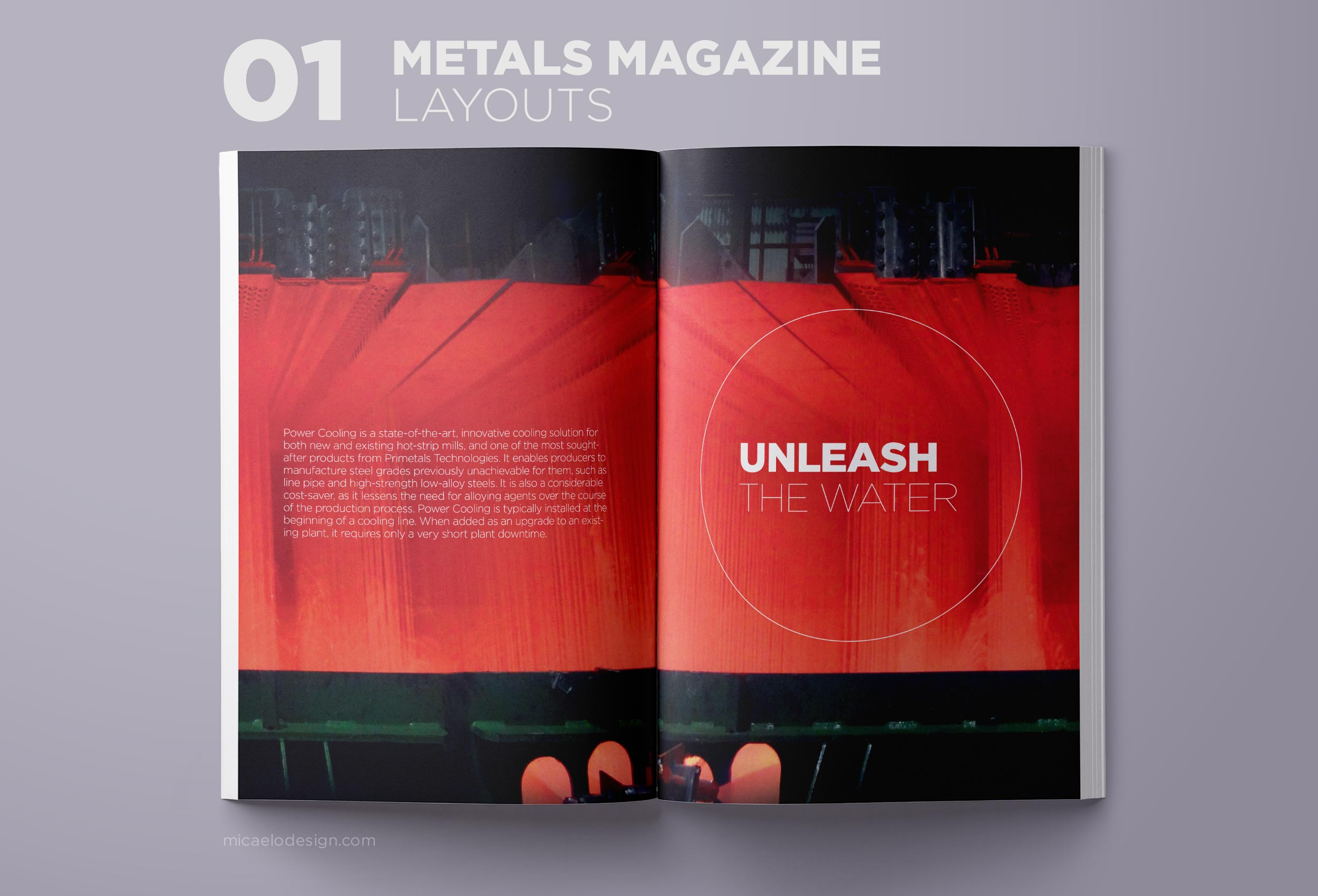 Primetals Metals Magazine layout N01