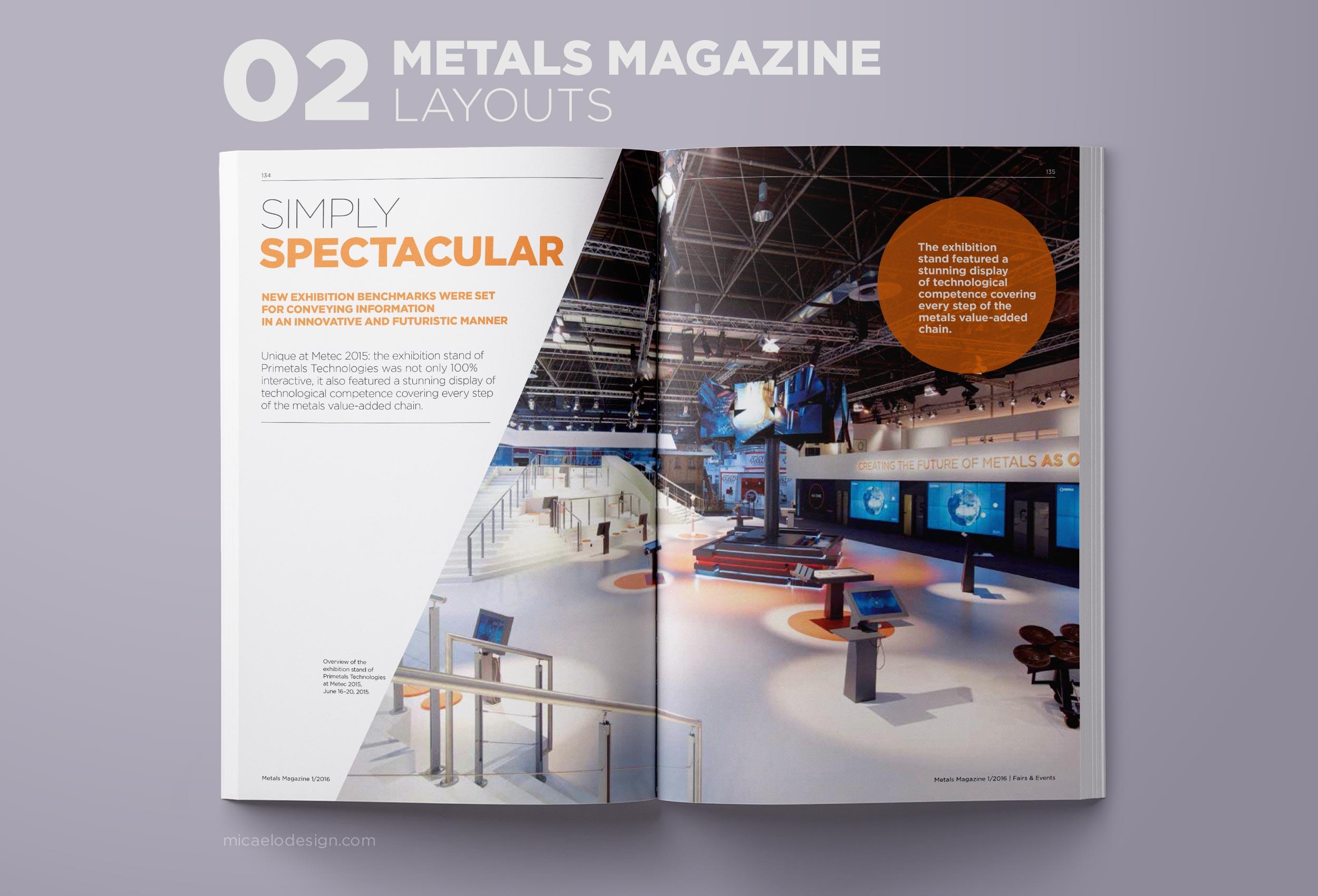 Primetals Metals Magazine layout N02