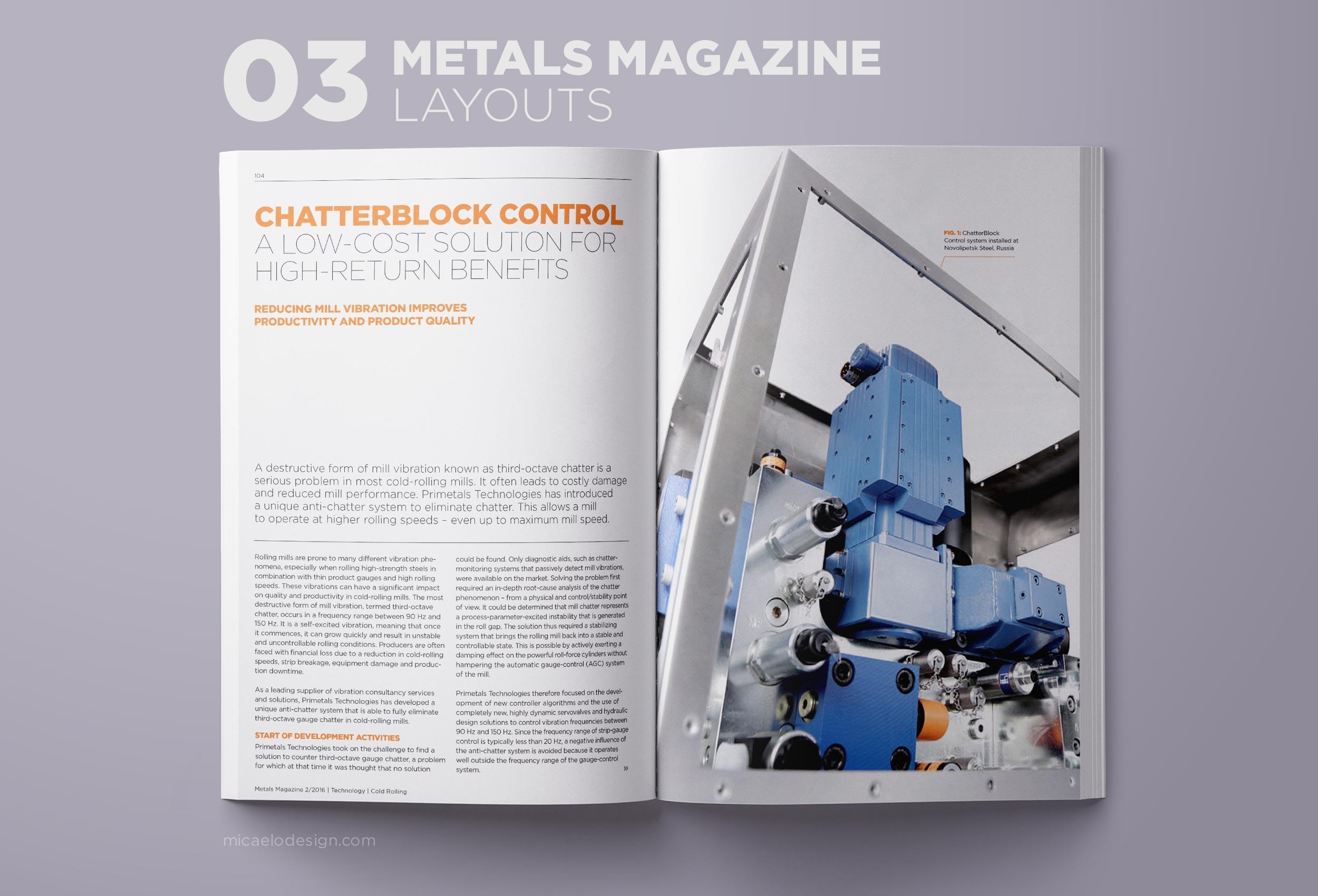 Primetals Metals Magazine layout N03
