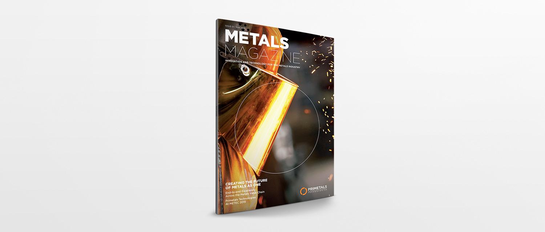 Cover of Primetals Metals Magazine