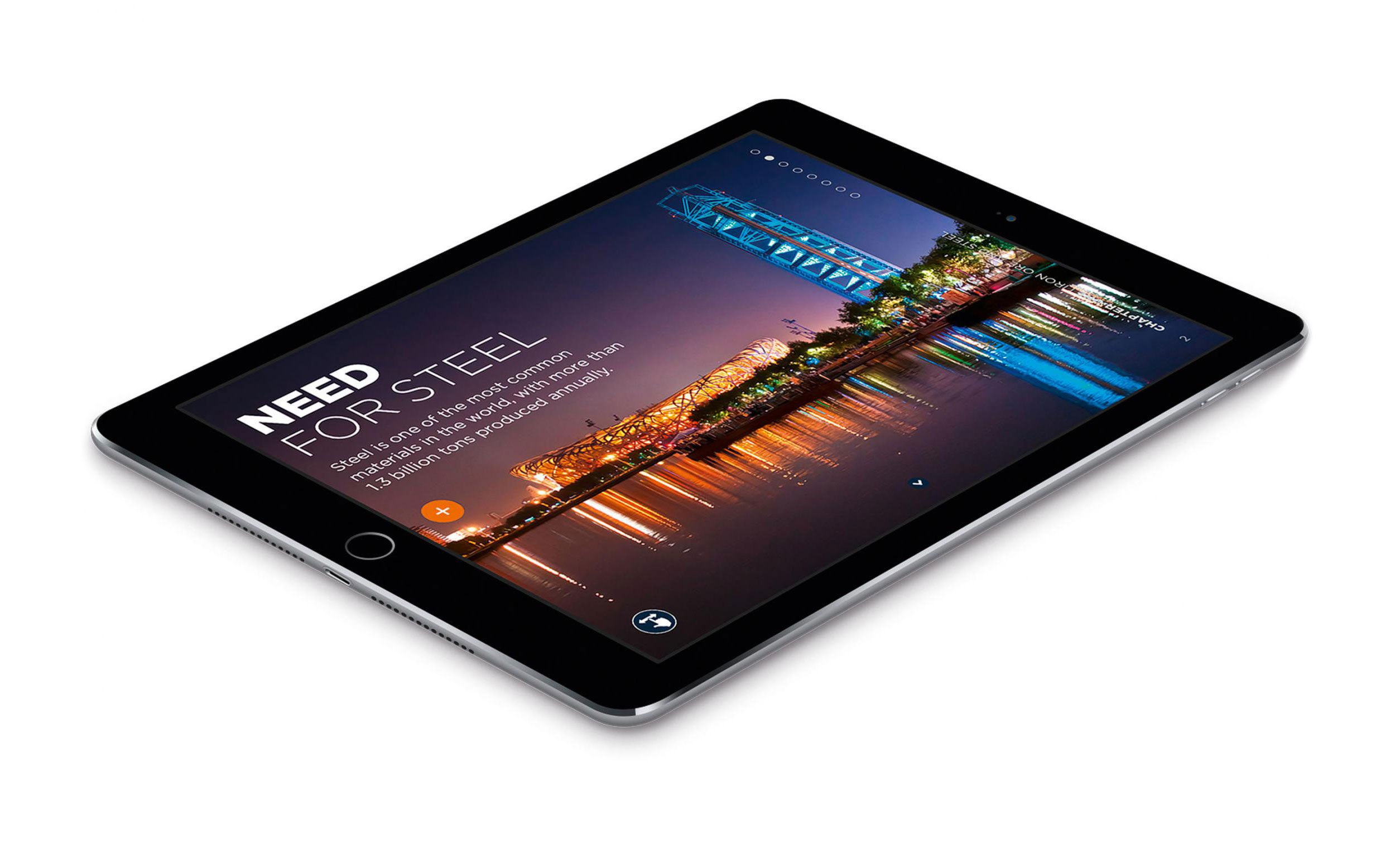 Primetals Metals Technologies iPad layout