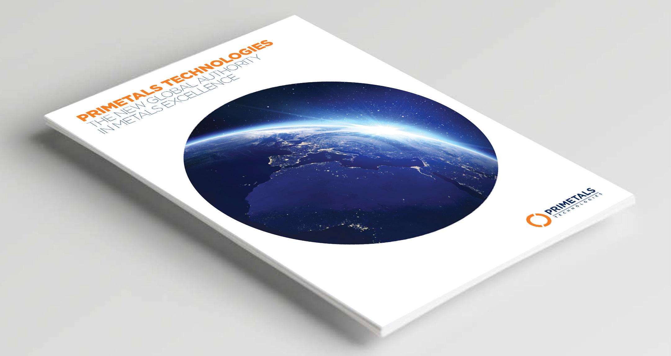 Primetals cover brochure layout