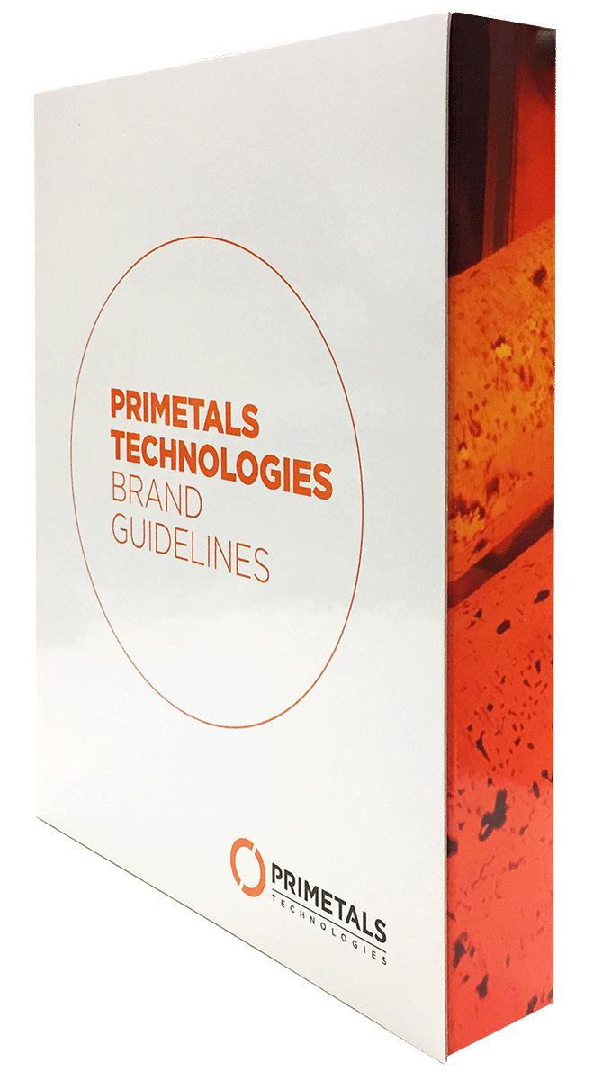 Primetals Brand Guidelines folder