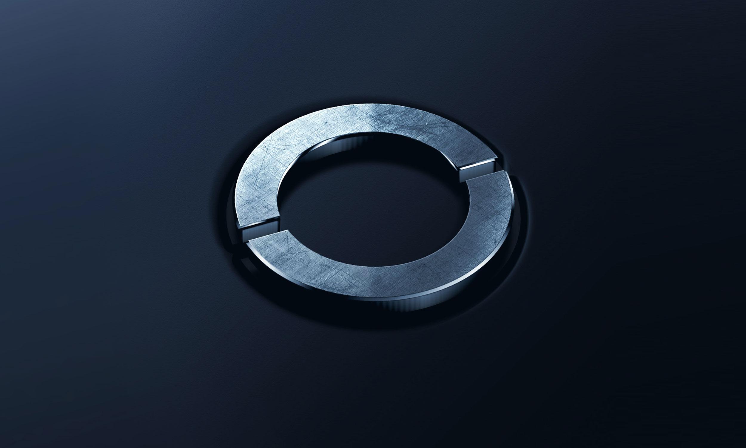 Primetals ring symbol in metal