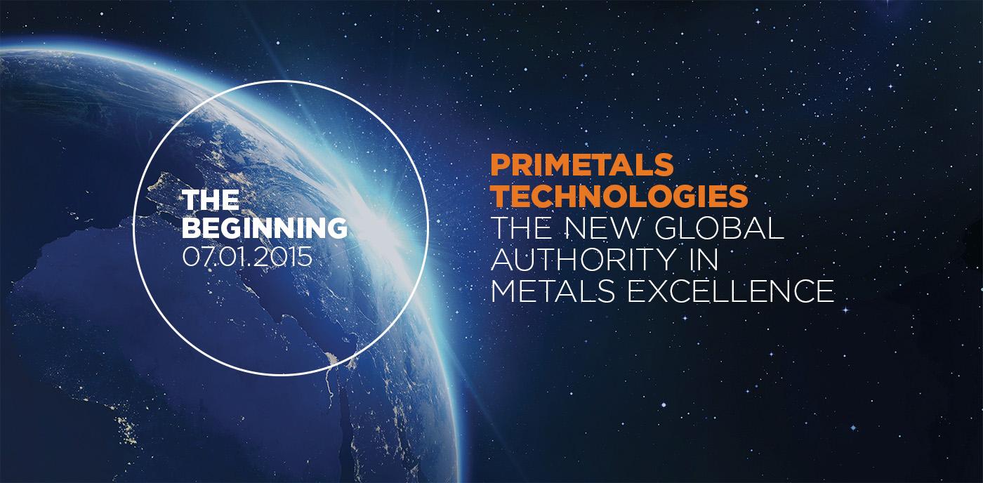 Primetals 2015 layout of world