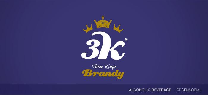 3K Brandy logo