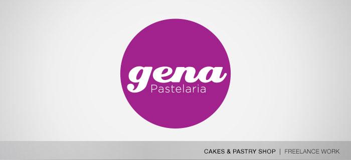 Pastelaria Gena logo