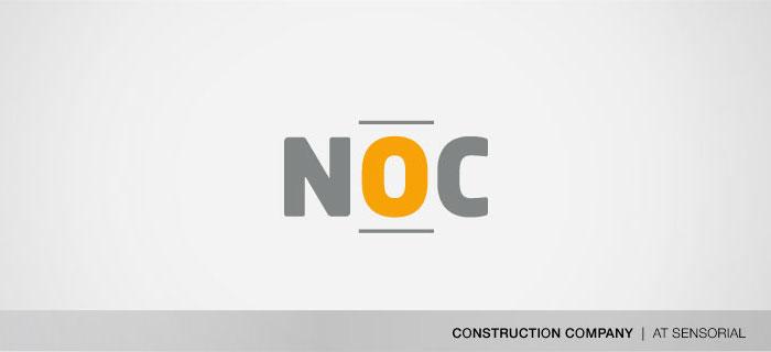 NOC construções logo