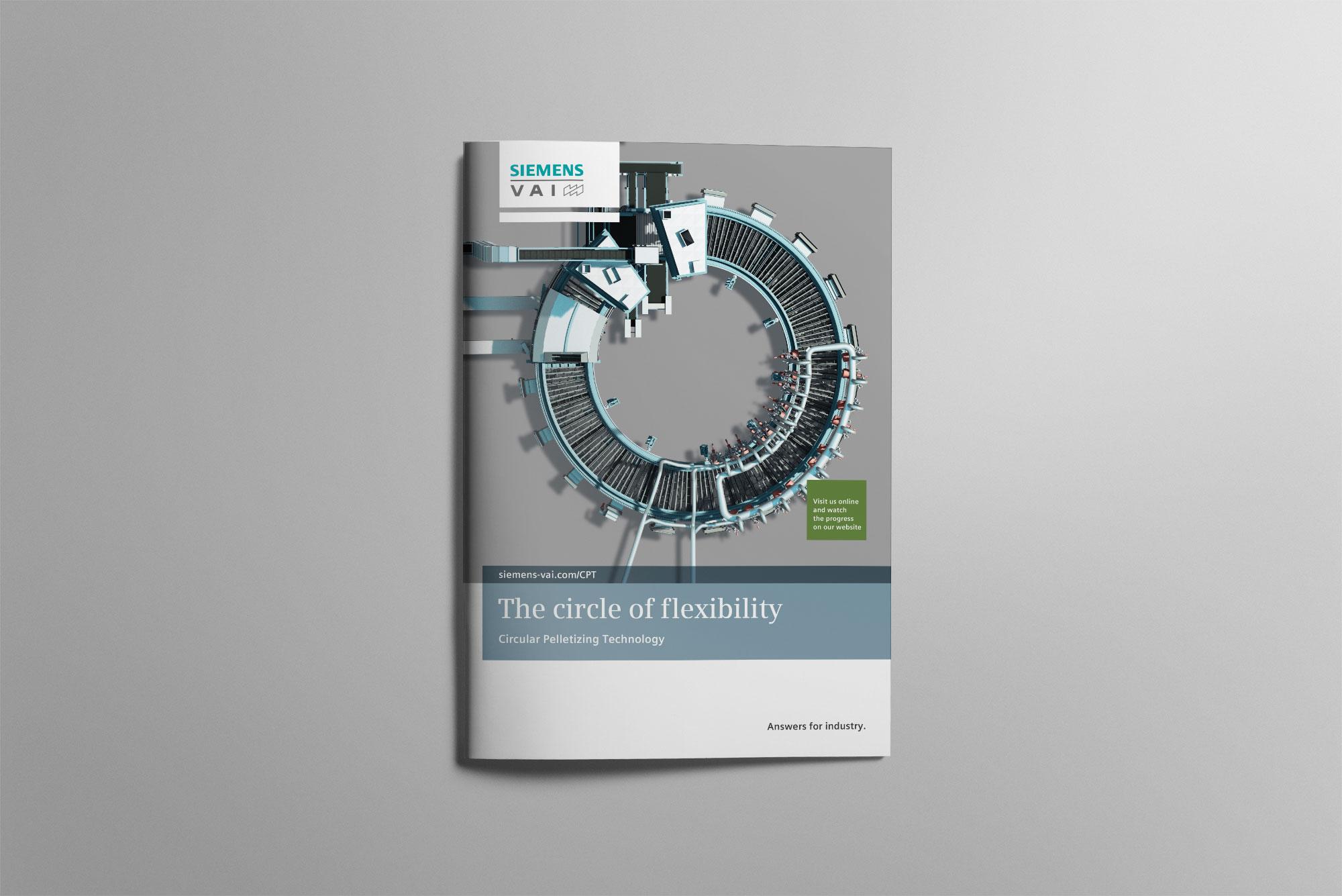 Siemens VAI brochure cover
