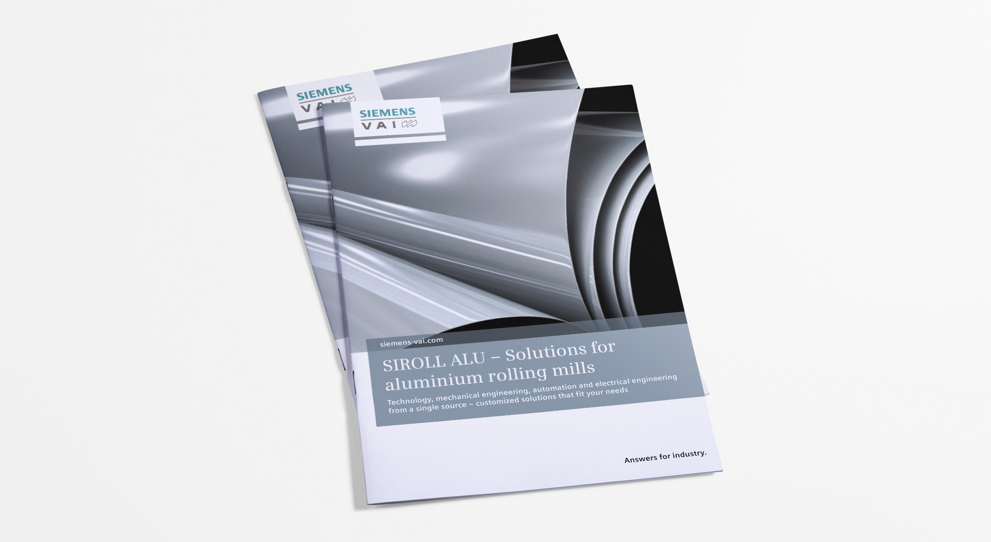 Siemens VAI brochure covers